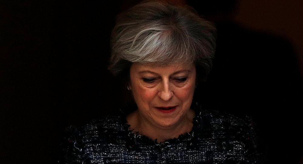 Theresa May primera ministra británica