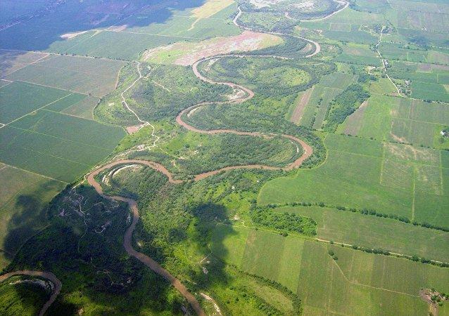 Río Salí-Dulce en Argentina