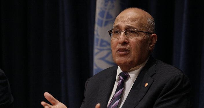 Nabil Shaath, el asesor del presidente de Palestina para relaciones internacionales (archivo)