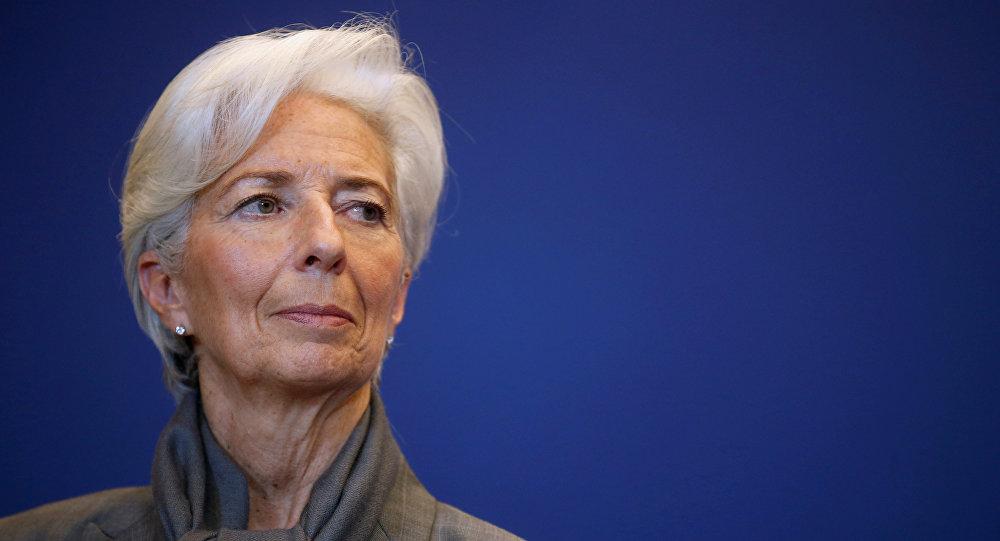 Christine Lagarde, directora ejecutiva del FMI (archivo)