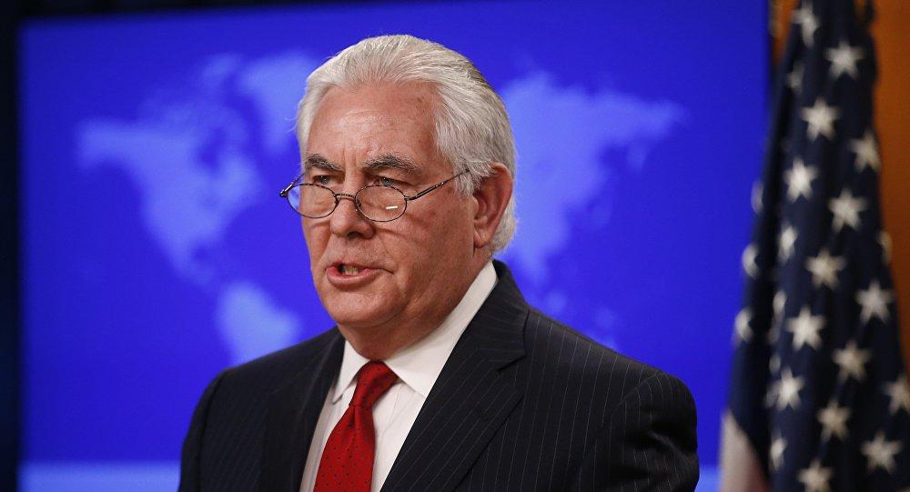 Rex Tillerson, exsecretario de Estado de EEUU