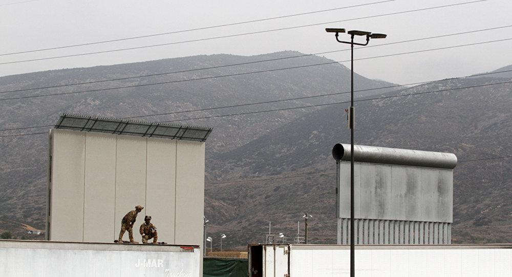 Prototipos del muro fronterizo
