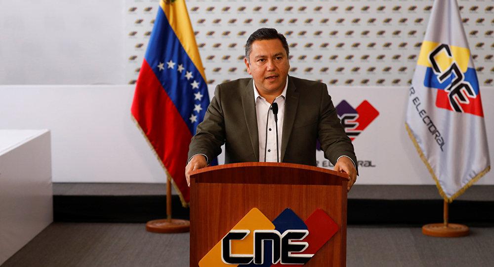 Javier Bertucci, candidato a la presidencia de Venezuela (archivo)