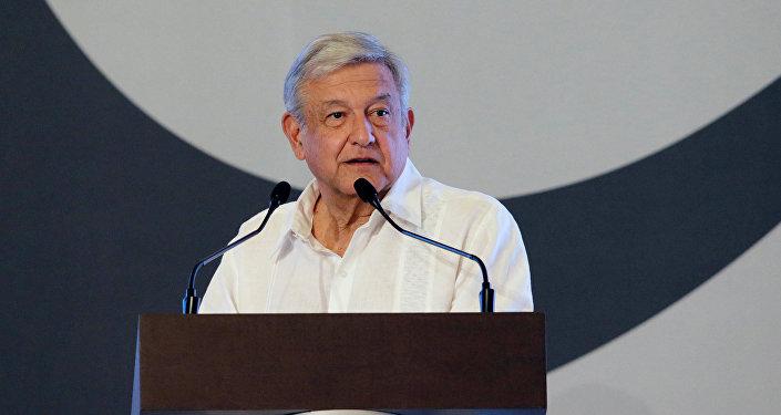 Andrés Manuel López Obrador, candidato presidencial de la izquierda mexicana