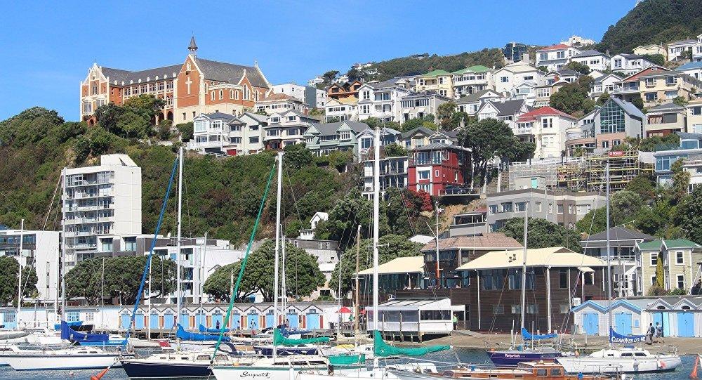 Wellington, la capital de Nueva Zelanda