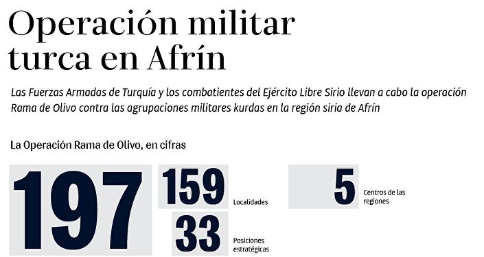 Erdogan dice que el Ejército turco controla ciudad de Afrín