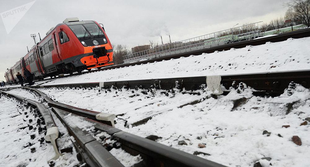 Ferroviaria rusa RZhD