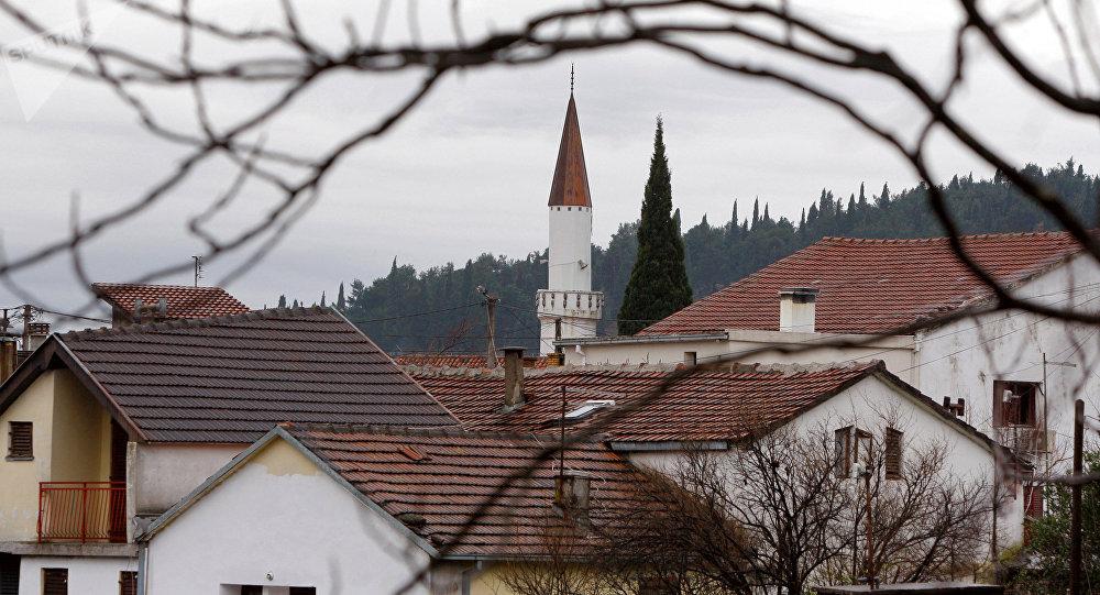Podgorica, la capital de Montenegro