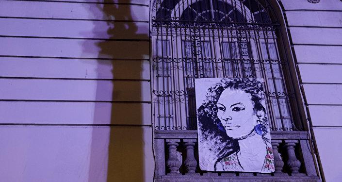 Un retrato de Marielle Franco, la consejal brasileña asesinada (archivo)