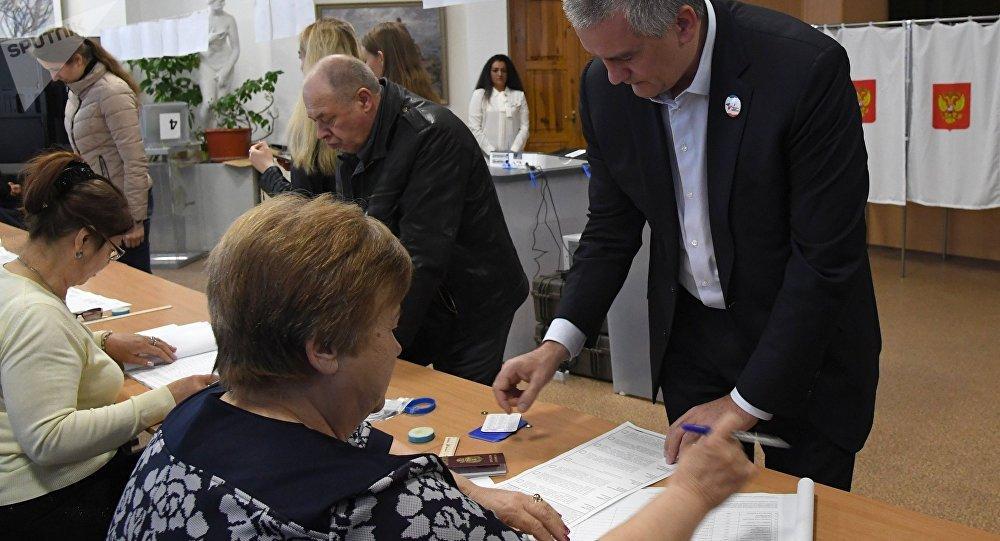 Las elecciones presidenciales en Crimea, Rusia