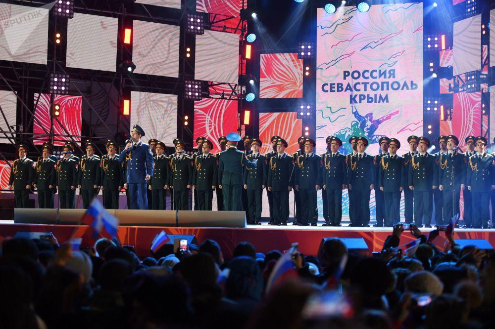 ¡Bienvenidos a casa! Así celebró Moscú el 4 aniversario de la reunificación de Crimea con Rusia