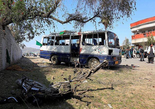 Ataque en Jalalabad, Afganistán