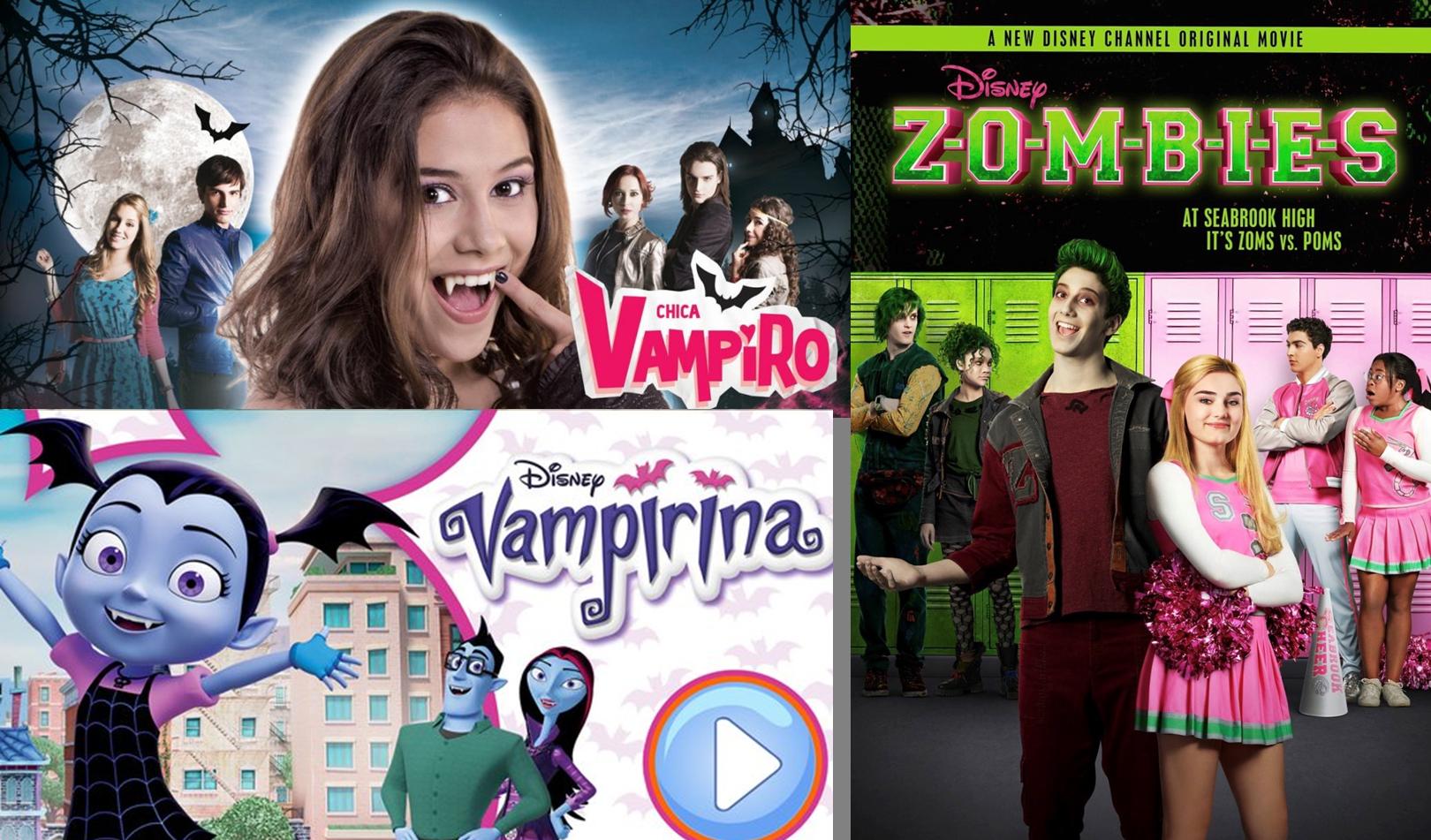 Zombies y vampiros