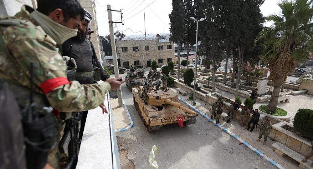 El ejército turco y la oposición siria toman Afrín