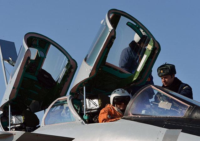 Los pilotos rusos del caza MiG-31
