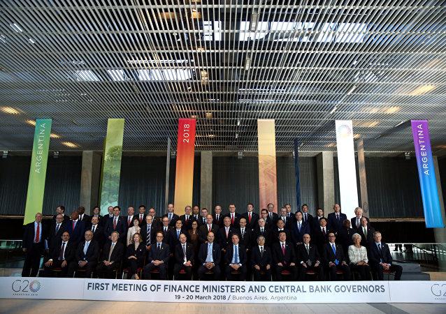 La reunión entre ministros de Finanzas y presidentes de bancos centrales del G20