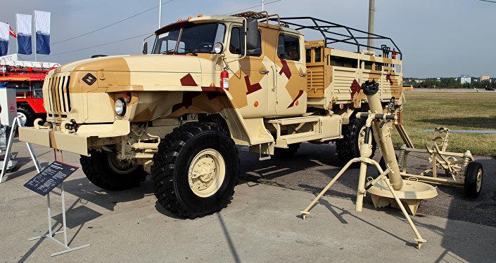 Los morteros 2S12A Sani