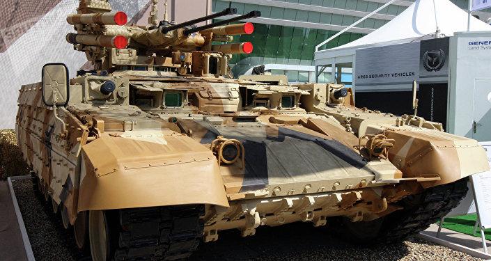 El BMPT o 'Terminator' ruso
