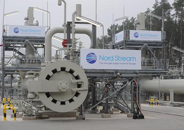Instalaciones de Nord Stream 2 en Alemania