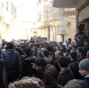 Situación en Guta Oriental, Siria