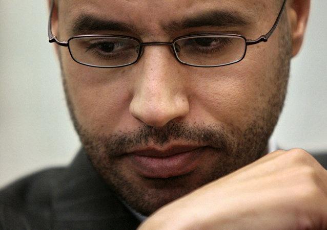 Saif Islam Gadafi, imagen de archivo