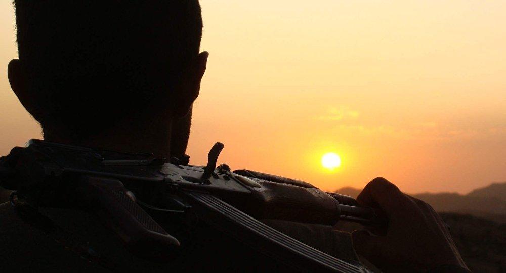 Un combatiente del Partido de los Trabajadores del Kurdistán (PKK, proscrito en Turquía)