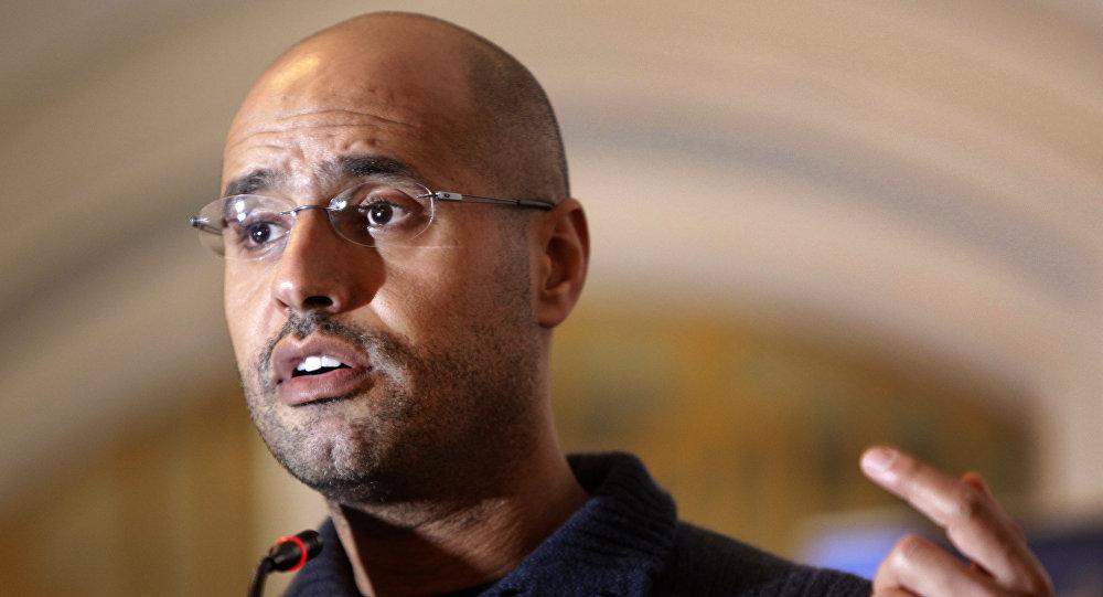 Saif al-Islam Gadafi, hijo del exlíder libio Muamar Gadafi (archivo)