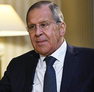 Serguéi Lavrov, ministro ruso de Asuntos Exteriores