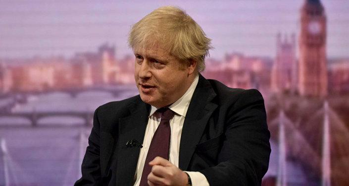 Boris Johnson, ministro de Exteriores del Reino Unido