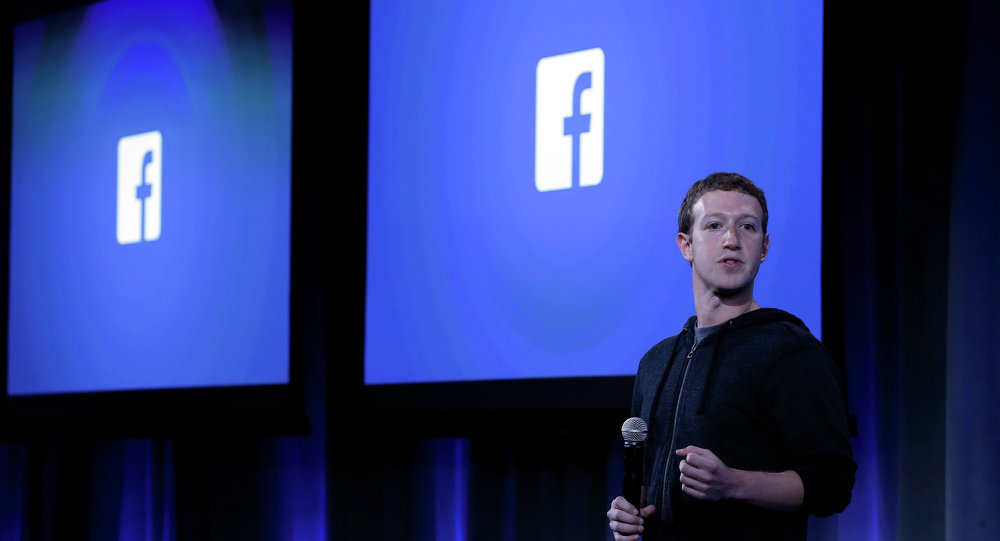 Mark Zuckerberg, fundador y presidente de Facebook (archivo)