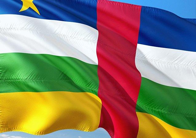 Bandera de la República Centroafricana (archivo)