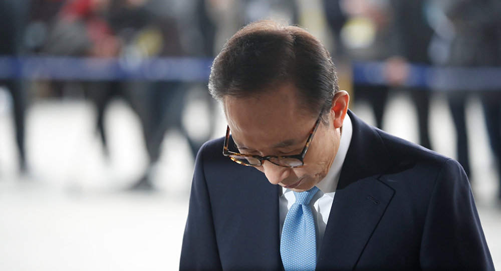 Lee Myung-bak, expresidente surcoreano (archivo)