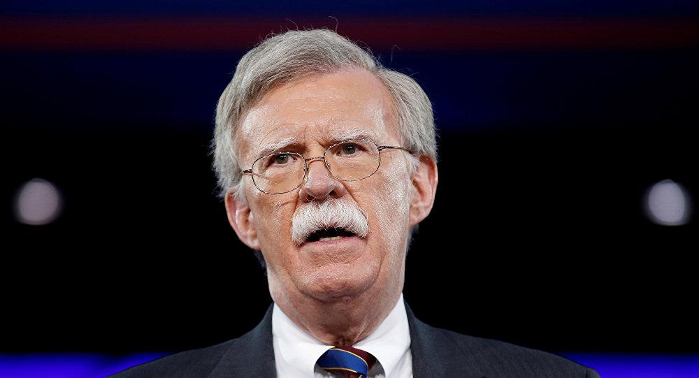 John Bolton, consejero de Seguridad Nacional de EEUU (archivo)