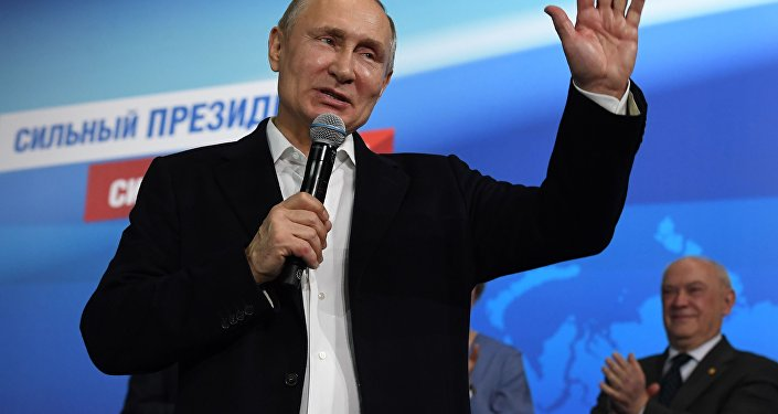 Vladímir Putin, el actual presidente de Rusia