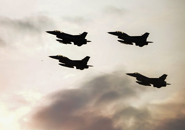 Aviones F-16 de la OTAN