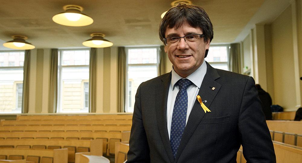 Puigdemont irá el lunes ante un juez alemán