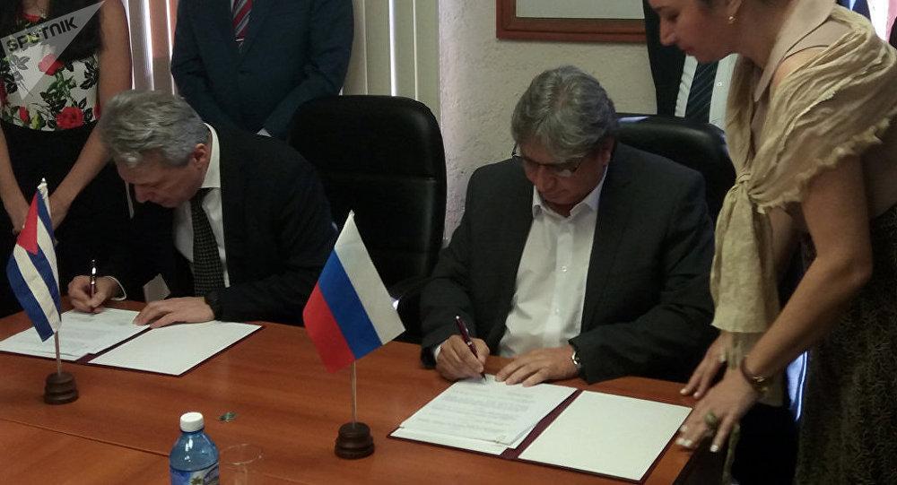 Se firma acuerdo de cooperación en áreas de televisión digital entre Rusia y Cuba
