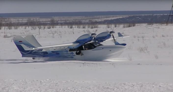 ¿'Anievizaje'? No existe la palabra para lo que hace este avión ruso