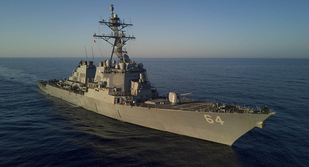 Barco estadounidense (imagen referencial)