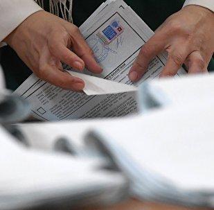 El recuento de votos en la ciudad rusa de Kazán