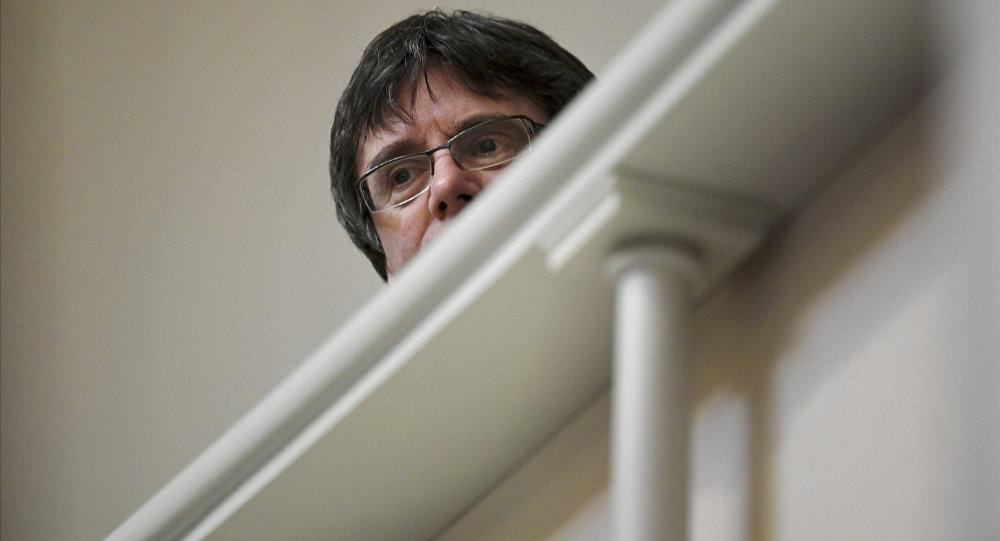 Carles Puigdemont, expresidente del la Generalitat