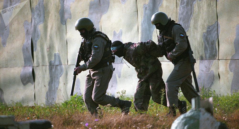 """Captura de """"terroristas"""" durante los ejercicios (archivo)"""