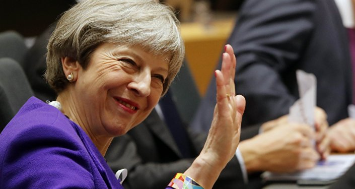 Theresa May, primera ministra de Reino Unido (archivo)