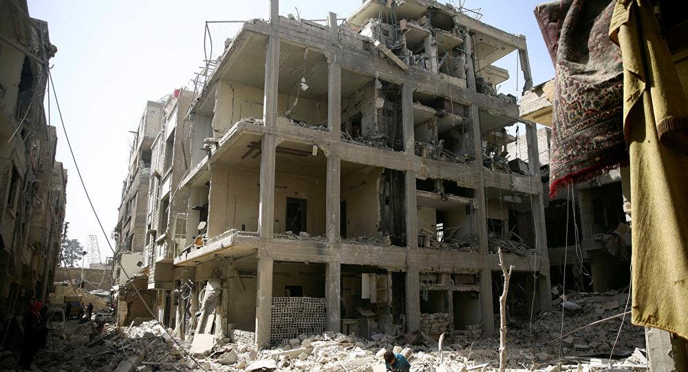 Más de 150.000 personas abandonan Guta Oriental, Siria
