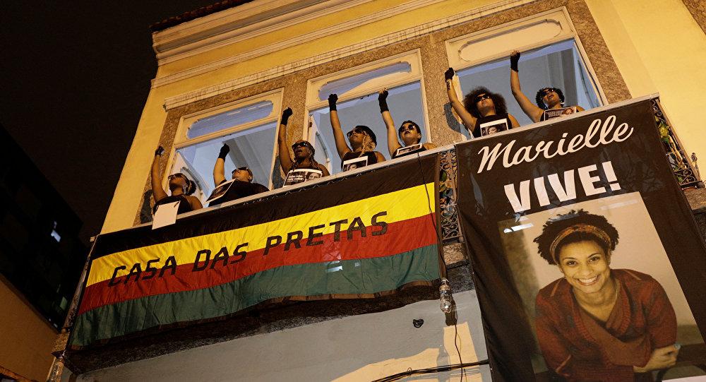 El asesinato de la concejala del Ayuntamiento de Río de Janeiro Marielle Franco