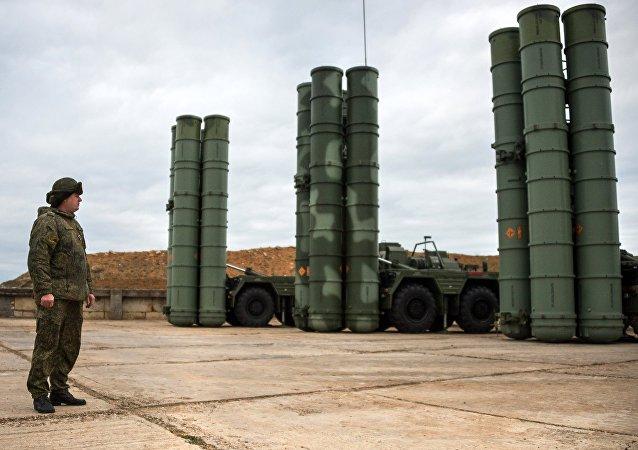 Sistemas antimisiles S-400 Triumf