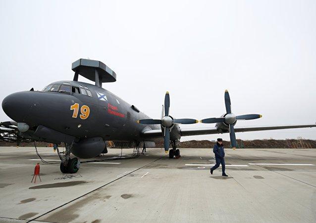 El avión antisubmarino Il-38N con el sistema de búsqueda Novella-P-38