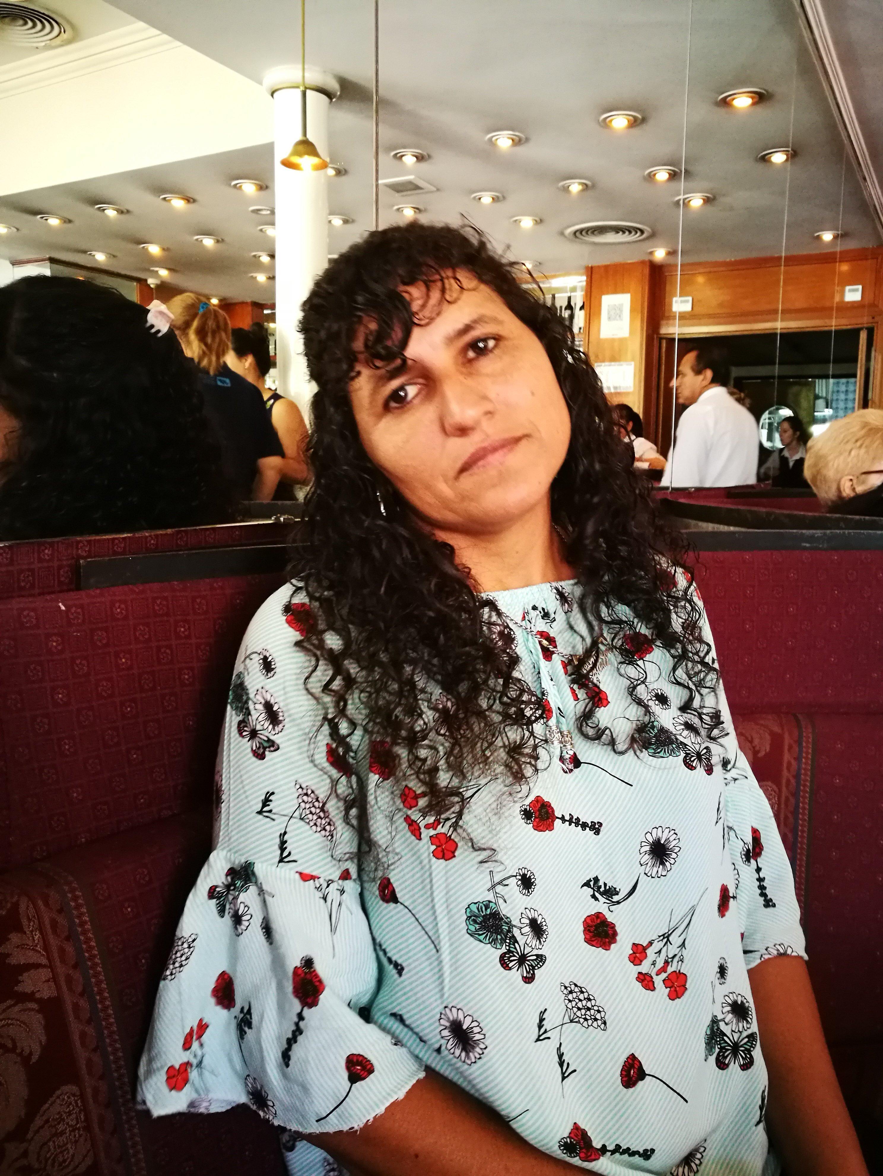 Ana Monzón, hermana del combatiente caído en Malvinas Juan Carlos Monzón