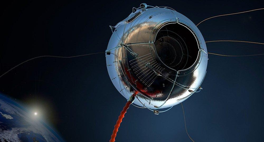 Un satélite, imagen ilustrativa
