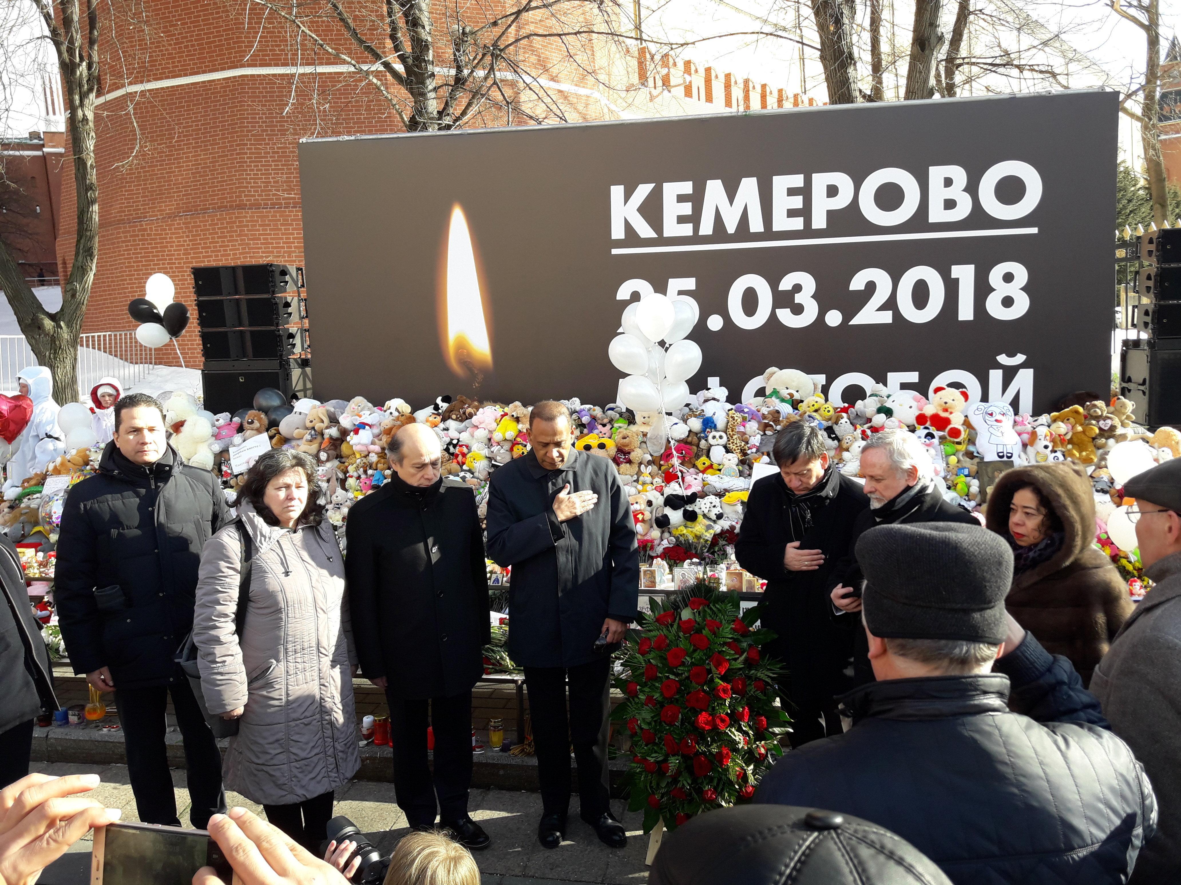 Panamá se solidariza con Federación de Rusia tras incendio de Kémerovo